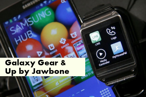 regali tecnologici: galaxy gear e up jawbone